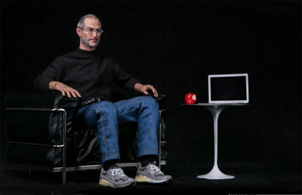 Speelgoed voor de Apple-fan: een Steve Jobs action figure