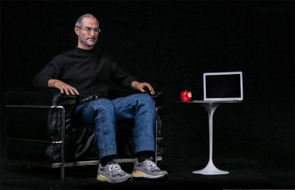 Speelgoed voor de Apple-fan: een Steve Jobs action figure
