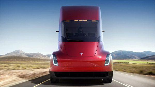 Tesla heeft een nieuwe Roadster en een elektrische vrachtwagen gelanceerd