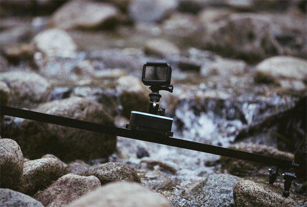 Trek: een gemotoriseerde rails voor je camera