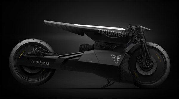 Barbara Custom Motorcycles: hypermoderne motoren