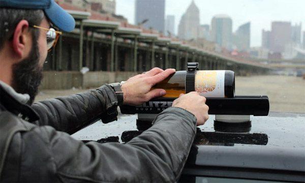 Blitzen: een drankkoeler voor op het dak van je auto