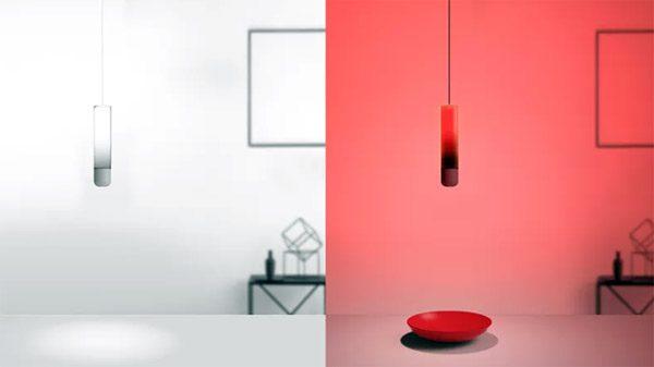 Color Swing: een lamp die kleuren reproduceert