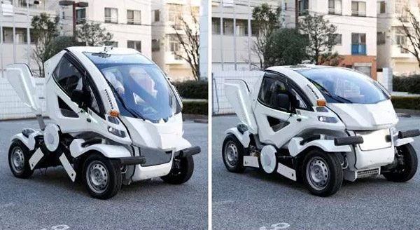 Met de opvouwbare Earth-1 kun je overal parkeren