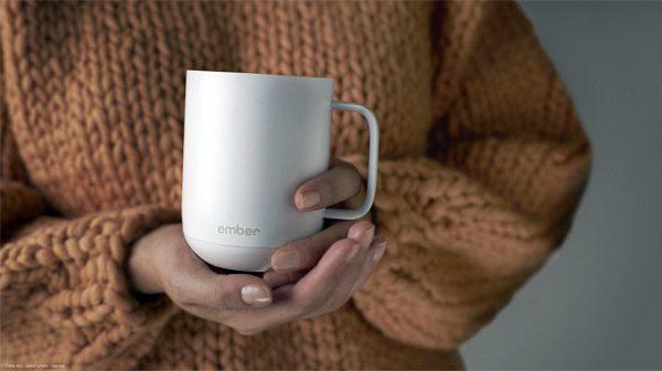 Met Ember heb je altijd warme koffie