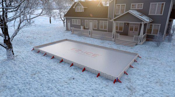 EZ Ice: een ijsbaan voor in de achtertuin