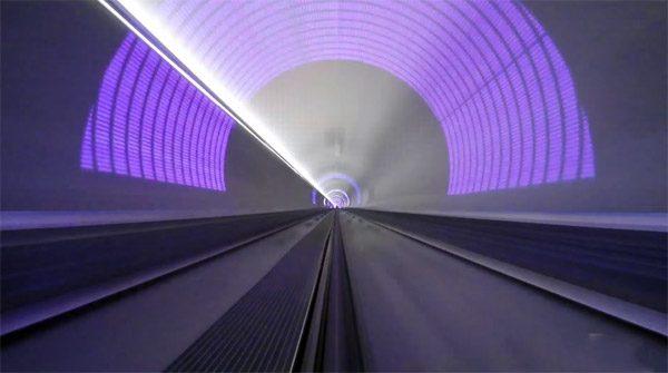 De hyperloop heeft een nieuwe topsnelheid van 386 km/u bereikt