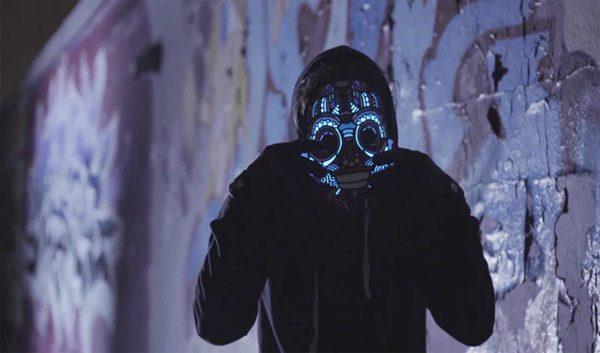 Deze toffe LED-maskers reageren op de muziek