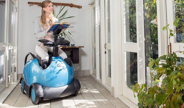 Deze hypermoderne rolstoel biedt veel meer bewegingsvrijheid