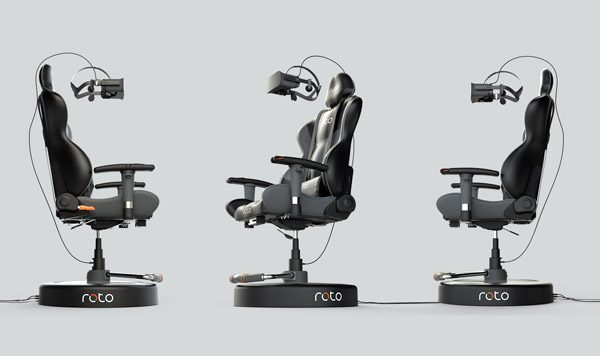 Roto VR Chair: een stoel voor virtual reality