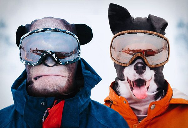 Toffe skimaskers laten je als dier de piste bestijgen