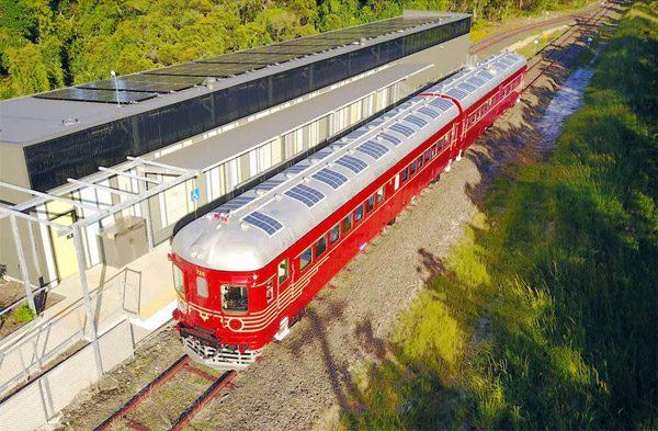 In Australië bevindt zich de eerste trein op zonne-energie