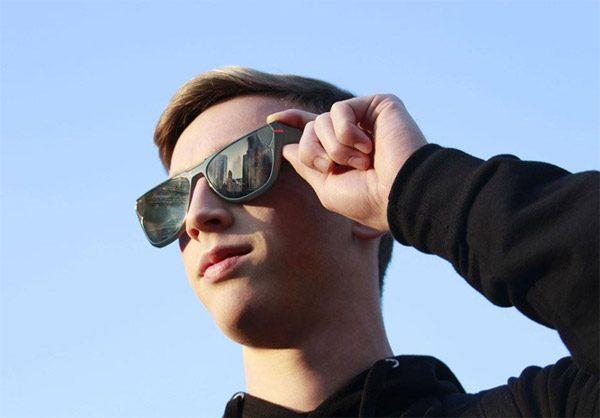 Ace Eyewear: een zonnebril om mee te livestreamen