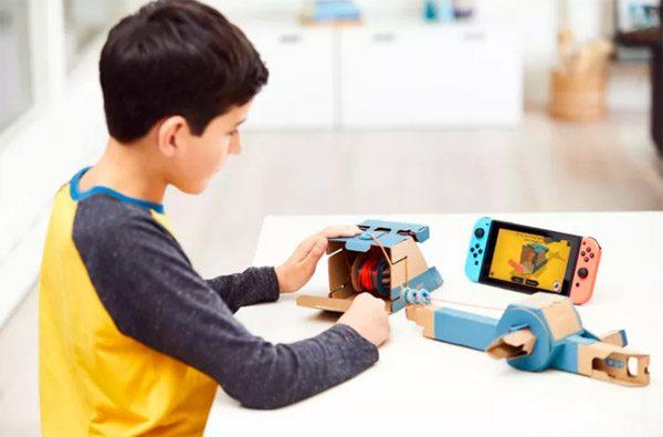 Nintendo Labo: kartonnen DIY-accessoires voor de Switch
