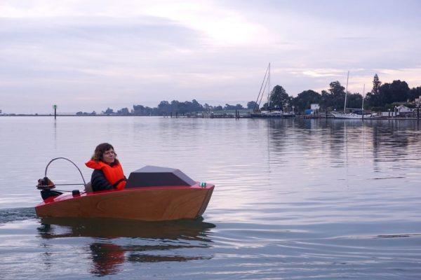 Rapid Whale: een elektrisch bootje voor eenlingen