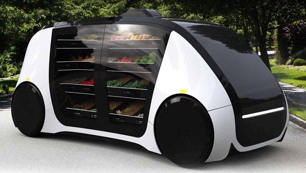 Robomart: de autonome boodschappenwinkel die thuis langskomt