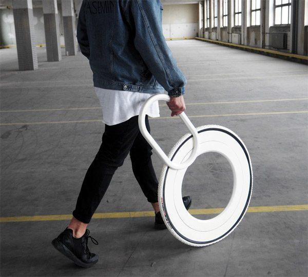 Walking Wheel: de moderne variant van de wandelstok