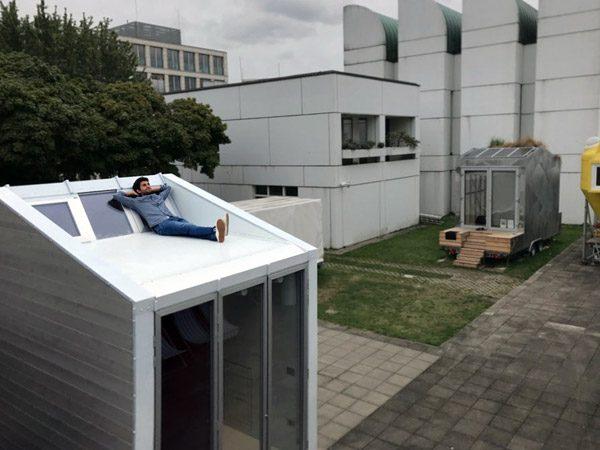 aVoid: een mini-huisje met een dakterras
