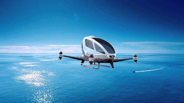 Autonome drone voor passagiers voert 1.000 testvluchten uit