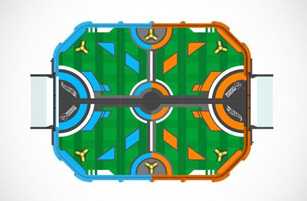 Er is een Rocket League versie van Hot Wheels in de maak