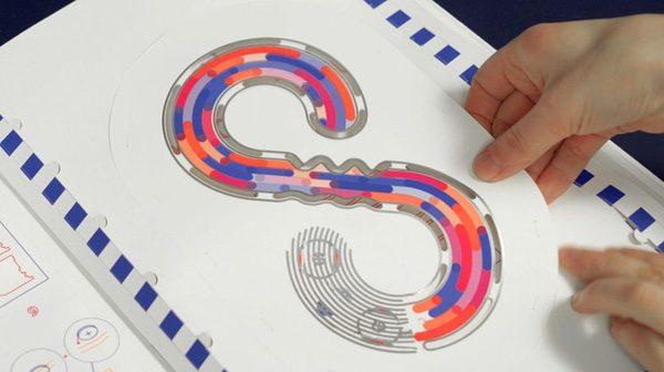 Papier Machine: een boek dat je leert over elektronica