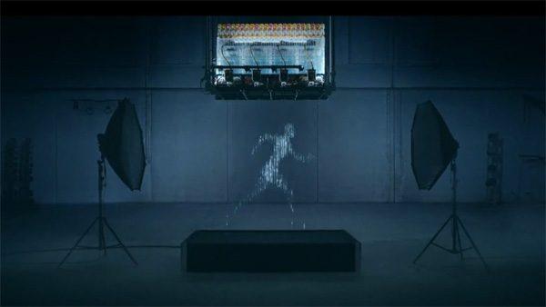 Deze 3D-printer bootst een mens na met water