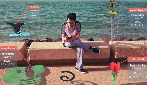 Artopia: een app die je digitaal laat tekenen in de wereld