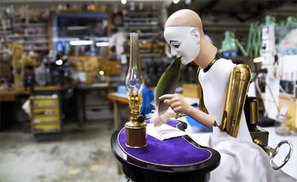 De wonderlijke Zwitserse robots van François Junod