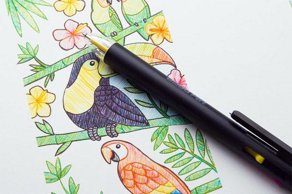 CMYK Pen: alle kleuren in één pen