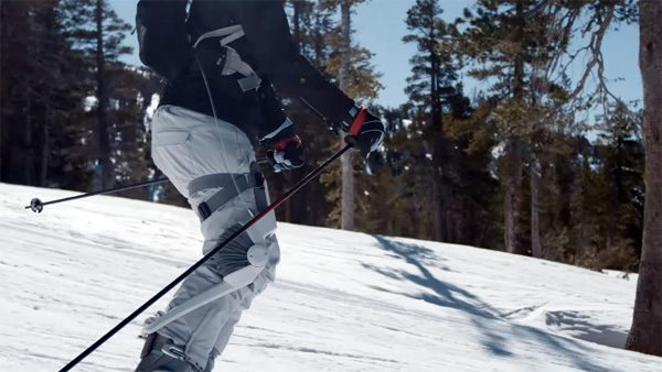 Roam: een exoskelet waarmee je beter kunt skiën