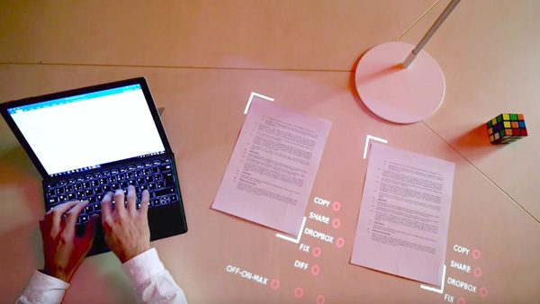 Deze lamp toont de toekomst van augmented reality
