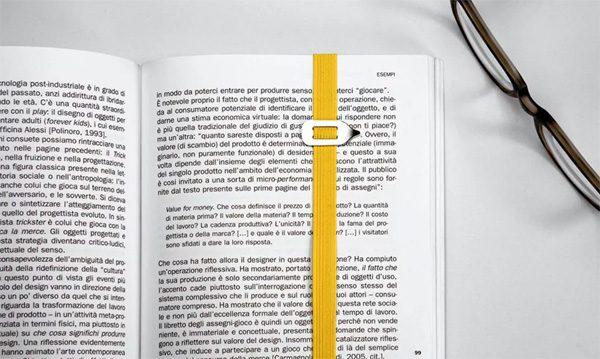 LastWord: een boekenlegger die je laatste letter aanwijst