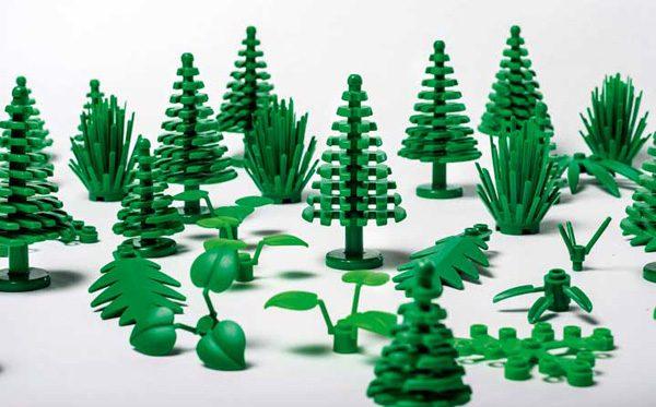Lego wordt duurzaam: planten gemaakt van suikerriet