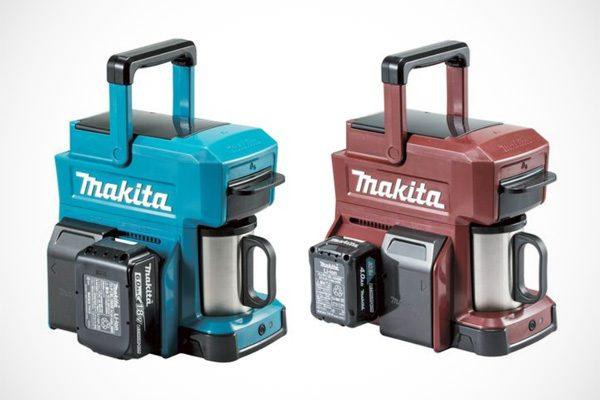 Gebruik de accu van je boor in dit koffiezetapparaat van Makita