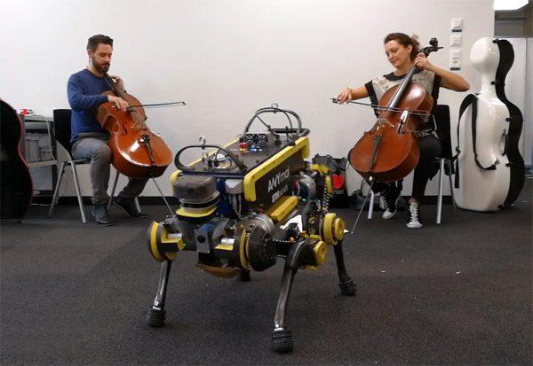 ANYmal: een robot die zichzelf leert dansen