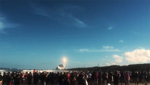 Makers van Westworld creëren lanceringsvideo voor SpaceX