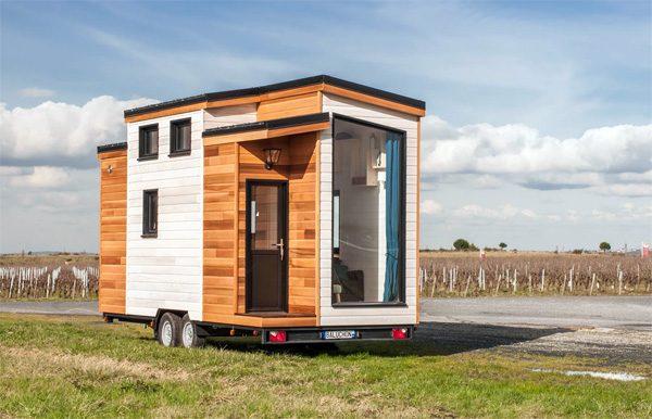 Utopia: een mini-huisje voor twee personen