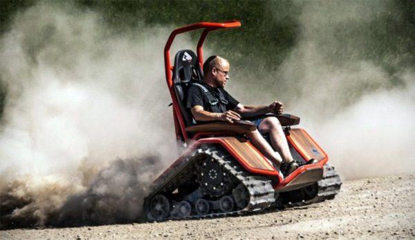 Ziesel Sport: een elektrische rolstoel met rupsbanden