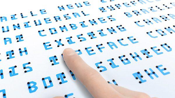 Braille Neue: een lettertype voor iedereen