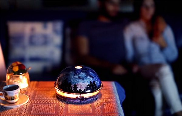 Egloo: verwarm je huis met deze bijzondere kaarsenhouder