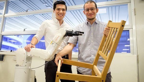 Deze robots bouwen probleemloos een IKEA-stoel