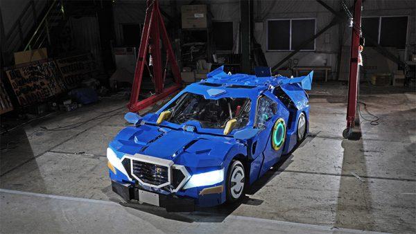Ride: een Transformer-robot voor twee personen