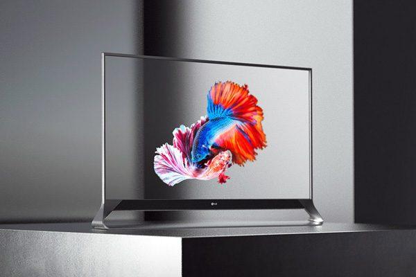 De wonderlijke transparante televisie van LG