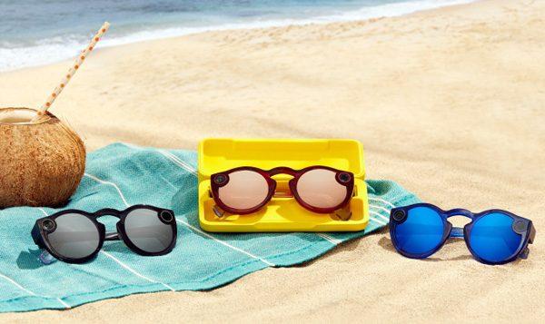 De nieuwe camerabril van Snapchat doet het ook onder water