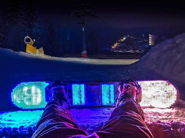 BlizzardLed: LED-verlichting voor op je snowboard