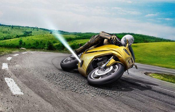 Nieuwe techniek van Bosch voorkomt dat motoren wegglijden