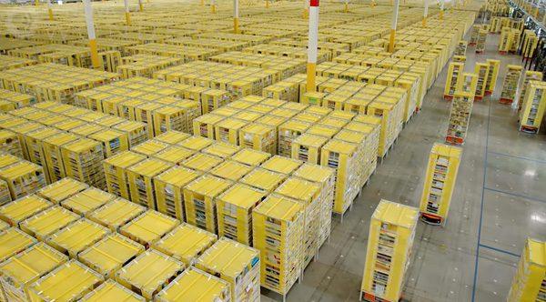 Een kijkje bij de robots van Amazon