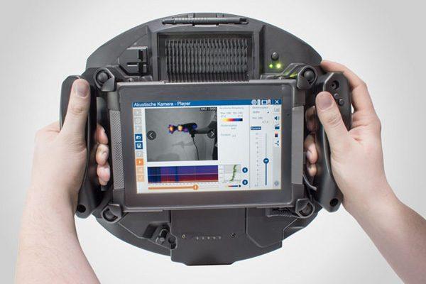 Soundcam: een camera waarmee je geluiden kunt zien
