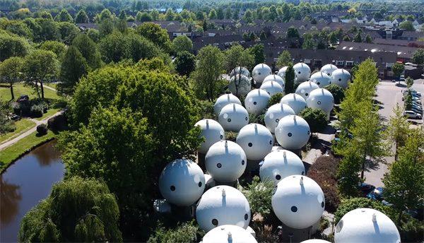 Een blik op de bijzondere bolwoningen van Den Bosch
