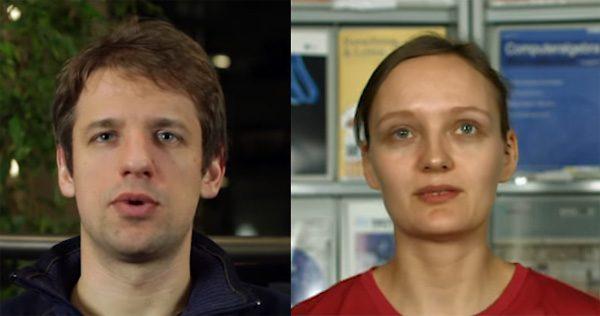 Zie hoe een computer de gezichtsuitdrukkingen van mensen kopieert